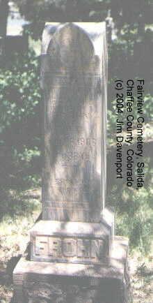 FROHN, HERMAN - Chaffee County, Colorado   HERMAN FROHN - Colorado Gravestone Photos