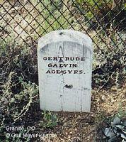 GALVIN, GERTRUDE ELSIE - Chaffee County, Colorado | GERTRUDE ELSIE GALVIN - Colorado Gravestone Photos