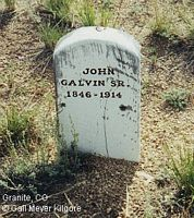 GALVIN, JOHN, SR. - Chaffee County, Colorado | JOHN, SR. GALVIN - Colorado Gravestone Photos