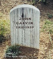 GALVIN, JOHN - Chaffee County, Colorado | JOHN GALVIN - Colorado Gravestone Photos