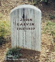 GALVIN, JOHN - Chaffee County, Colorado | JOHN GALVIN - Colorado Gravestone Photos
