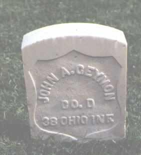 GEYMON, JOHN A. - Chaffee County, Colorado   JOHN A. GEYMON - Colorado Gravestone Photos