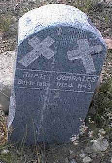 GONSALES, JUAN - Chaffee County, Colorado | JUAN GONSALES - Colorado Gravestone Photos