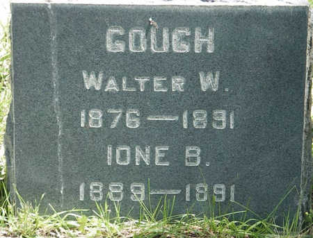 GOUGH, WALTER W. - Chaffee County, Colorado | WALTER W. GOUGH - Colorado Gravestone Photos