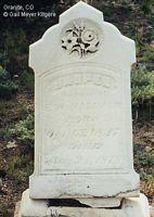 HAMMAN, JASPER - Chaffee County, Colorado | JASPER HAMMAN - Colorado Gravestone Photos