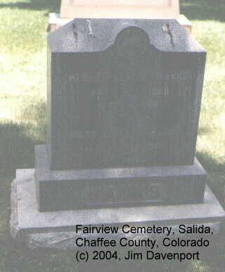 HANKS, MARY ESTELLA - Chaffee County, Colorado | MARY ESTELLA HANKS - Colorado Gravestone Photos