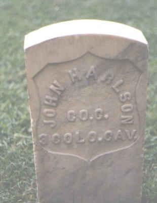 HARLSON, JOHN - Chaffee County, Colorado   JOHN HARLSON - Colorado Gravestone Photos