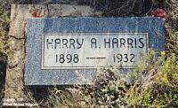 HARRIS, HARRY A. - Chaffee County, Colorado   HARRY A. HARRIS - Colorado Gravestone Photos