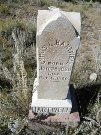 HARTWELL, CYPRUS L. - Chaffee County, Colorado | CYPRUS L. HARTWELL - Colorado Gravestone Photos