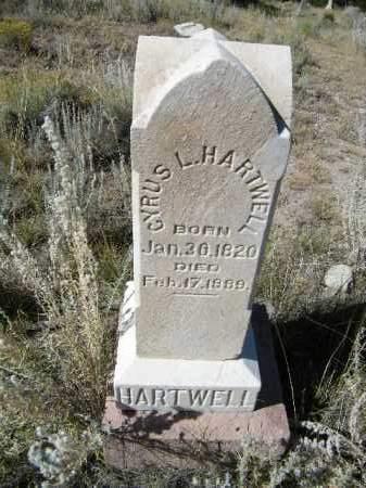 HARTWELL, CYPRUS L. - Chaffee County, Colorado | CYPRUS L. HARTWELL - Colorado Gravestone Photos