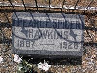 SPICER HAWKINS, PEARL E. - Chaffee County, Colorado | PEARL E. SPICER HAWKINS - Colorado Gravestone Photos
