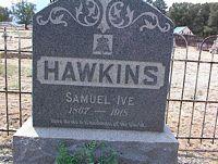 HAWKINS, SAMUEL IVE - Chaffee County, Colorado   SAMUEL IVE HAWKINS - Colorado Gravestone Photos