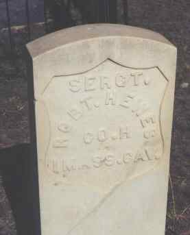 HEWES, ROBT. - Chaffee County, Colorado | ROBT. HEWES - Colorado Gravestone Photos