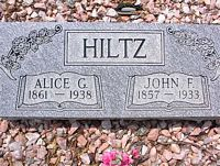 MCPHELEMY HILTZ, ALICE G. - Chaffee County, Colorado | ALICE G. MCPHELEMY HILTZ - Colorado Gravestone Photos