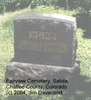 HOPE, IDA - Chaffee County, Colorado | IDA HOPE - Colorado Gravestone Photos