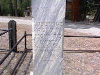 HOWARD, JOSEPHINE - Chaffee County, Colorado | JOSEPHINE HOWARD - Colorado Gravestone Photos