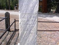 ROWAN HOWARD, JOSEPHINE - Chaffee County, Colorado | JOSEPHINE ROWAN HOWARD - Colorado Gravestone Photos