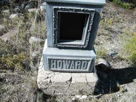 HOWARD, UNKNOWN - Chaffee County, Colorado   UNKNOWN HOWARD - Colorado Gravestone Photos