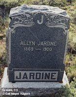 COTTRELL JARDIN, ALLYN - Chaffee County, Colorado | ALLYN COTTRELL JARDIN - Colorado Gravestone Photos