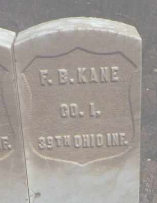 KANE, F. B. - Chaffee County, Colorado | F. B. KANE - Colorado Gravestone Photos
