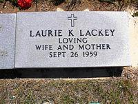 LACKEY, LAURIE K. - Chaffee County, Colorado | LAURIE K. LACKEY - Colorado Gravestone Photos