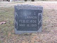 LANNON, EDMON S. - Chaffee County, Colorado | EDMON S. LANNON - Colorado Gravestone Photos