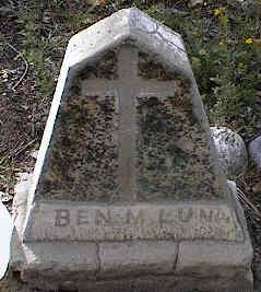 LUNA, BEN - Chaffee County, Colorado | BEN LUNA - Colorado Gravestone Photos