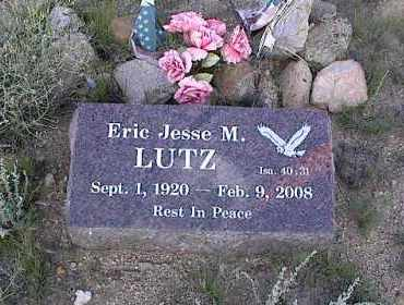LUTZ, ERIC JESSE M. - Chaffee County, Colorado | ERIC JESSE M. LUTZ - Colorado Gravestone Photos