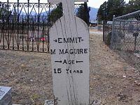 MAGUIRE, EMMIT M. - Chaffee County, Colorado | EMMIT M. MAGUIRE - Colorado Gravestone Photos