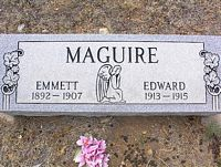 MAGUIRE, EMMETT - Chaffee County, Colorado | EMMETT MAGUIRE - Colorado Gravestone Photos