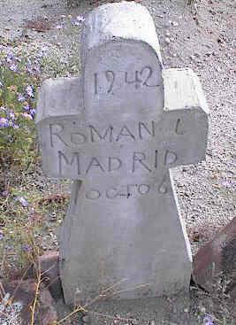 MADRID, ROMAN L. - Chaffee County, Colorado   ROMAN L. MADRID - Colorado Gravestone Photos