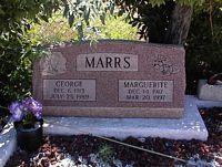 MARRS, MARGUERITE - Chaffee County, Colorado | MARGUERITE MARRS - Colorado Gravestone Photos