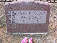 MARSHALL, ELIZABETH COGAN - Chaffee County, Colorado | ELIZABETH COGAN MARSHALL - Colorado Gravestone Photos