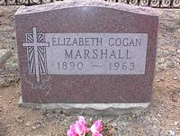 BRAZIL MARSHALL, ELIZABETH COGAN - Chaffee County, Colorado | ELIZABETH COGAN BRAZIL MARSHALL - Colorado Gravestone Photos