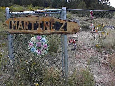 MARTINEZ, PLOT - Chaffee County, Colorado | PLOT MARTINEZ - Colorado Gravestone Photos
