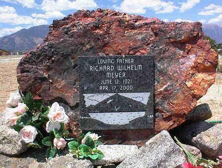 MEYER, RICHARD WILHELM - Chaffee County, Colorado | RICHARD WILHELM MEYER - Colorado Gravestone Photos