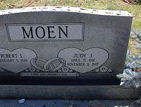 MOEN, JUDY J. - Chaffee County, Colorado | JUDY J. MOEN - Colorado Gravestone Photos