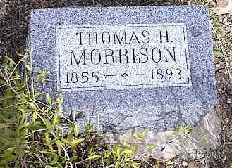 MORRISON, THOMAS H. - Chaffee County, Colorado | THOMAS H. MORRISON - Colorado Gravestone Photos
