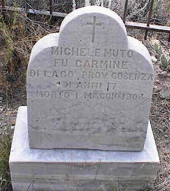 MUTO, MICHELE - Chaffee County, Colorado   MICHELE MUTO - Colorado Gravestone Photos