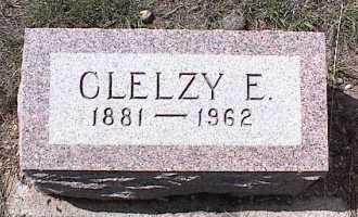 MYERS, CLELZY E. - Chaffee County, Colorado   CLELZY E. MYERS - Colorado Gravestone Photos