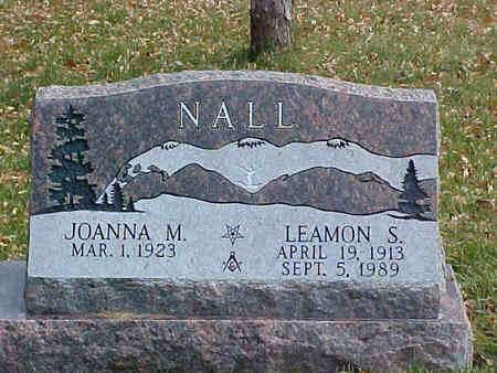 NALL, JOANNA M. - Chaffee County, Colorado | JOANNA M. NALL - Colorado Gravestone Photos
