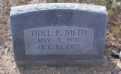 NIETO, FIDEL P. - Chaffee County, Colorado | FIDEL P. NIETO - Colorado Gravestone Photos