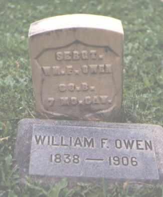 OWEN, WILLIAM F. - Chaffee County, Colorado | WILLIAM F. OWEN - Colorado Gravestone Photos