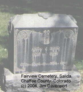 PARK, JOHN K. - Chaffee County, Colorado | JOHN K. PARK - Colorado Gravestone Photos