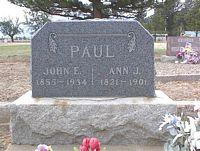 PAUL, ANN J. - Chaffee County, Colorado | ANN J. PAUL - Colorado Gravestone Photos