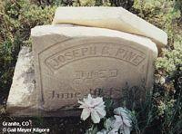 PINE, JOSEPH C. - Chaffee County, Colorado | JOSEPH C. PINE - Colorado Gravestone Photos
