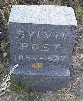 POST, SYLVIA - Chaffee County, Colorado | SYLVIA POST - Colorado Gravestone Photos