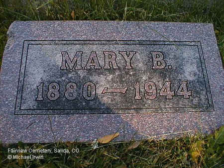 REARDON, MARY B. - Chaffee County, Colorado | MARY B. REARDON - Colorado Gravestone Photos