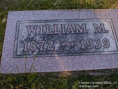 REARDON, WILLIAM M. - Chaffee County, Colorado | WILLIAM M. REARDON - Colorado Gravestone Photos