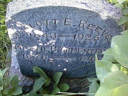 REEVES, CHARLOTTE - Chaffee County, Colorado | CHARLOTTE REEVES - Colorado Gravestone Photos